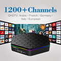 T95Zplus 4K Android 6 0 Smart TV Box Amlogic S912 with Free QHDTV IPTV Code Europe