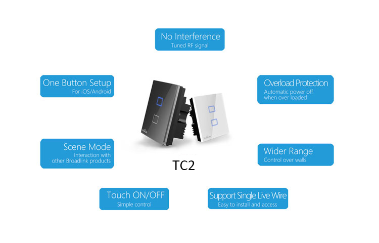 Broadlink 3 gang tc2 wireless remote control wifi wall light touch undefined mozeypictures Choice Image