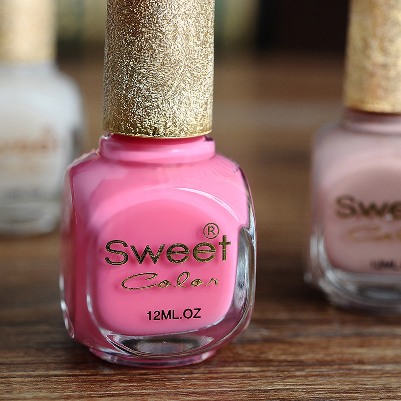 Candy-colored nail polish genuine environmental oil brand in Europe and America from the two Crystal Goddess(China (Mainland))