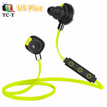 Morul U5 Plus Headphone NFC Swimming Stereo Earbuds niversal Wireless Bluetooth Headset BT4.1 Handfree Waterproof IPX7