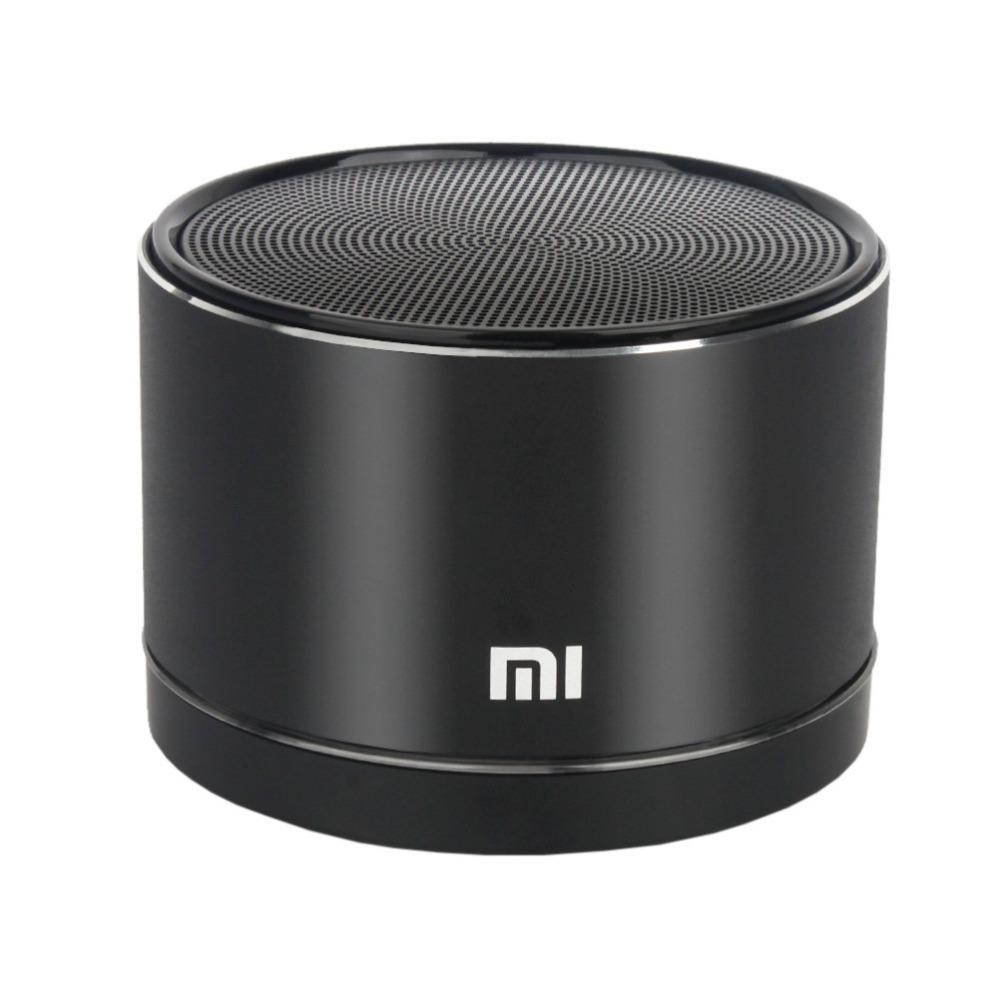 Original For Xiaomi Wireless Bluetooth 4.0 Speaker Portable Small Steel gun Speakers NFC Handsfree For Xiaomi Classical Black(China (Mainland))