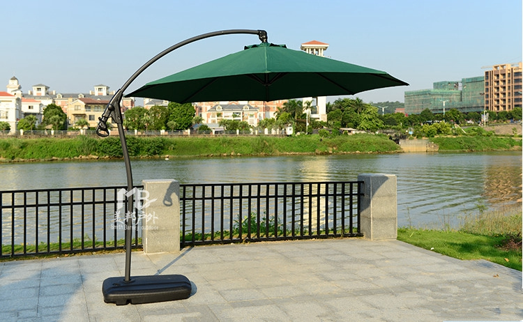Cheap outdoor garden patio furniture banana umbrella booth casual beach resort stall large parasol<br><br>Aliexpress