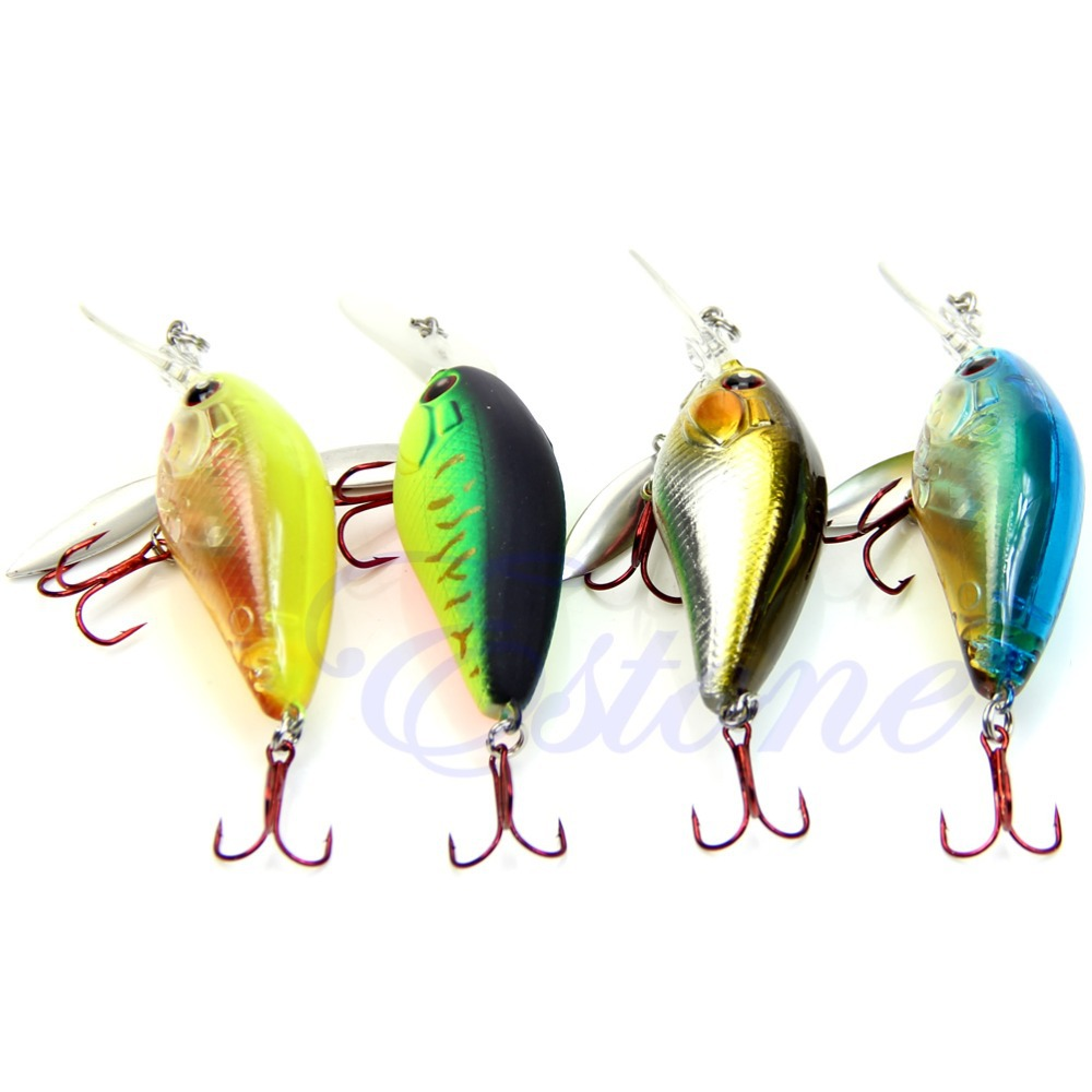 1X 90mm 8g Biomimetic Fishing Lures Crankbait Propeller Sharp Hook Tackle Treble<br><br>Aliexpress