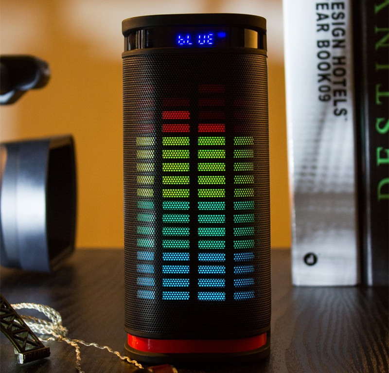 High Quality Liontronic Bluetooth speaker Portable Wireless speaker Sound System 3D stereo Music surround led light TF card FM <br><br>Aliexpress