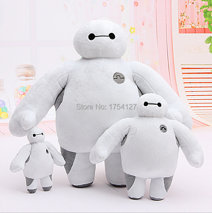 Moveable Baymax Plush Doll of Movie Big Hero 6 Stuffed Large Soft Baby Kids Toys For Children Christmas Gfit Free Shipping(China (Mainland))
