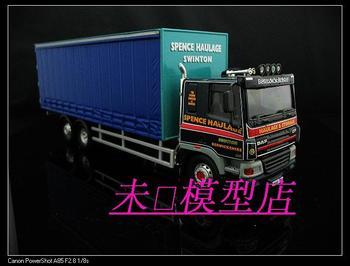 Corgi trailer truck stacking container alloy car model