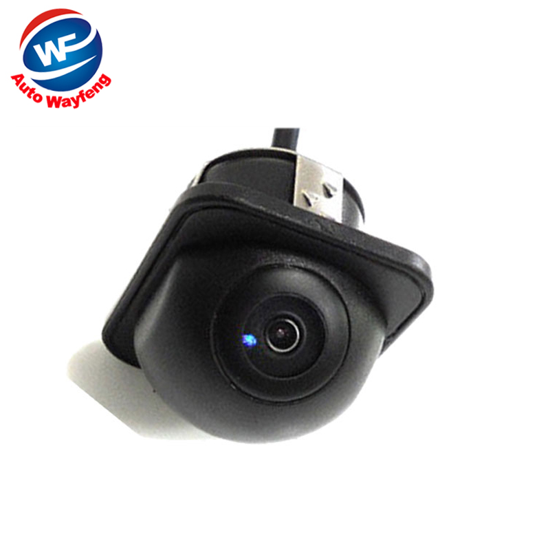 170 Wide Angle Night Vision Car Rearview Rear View Camera Front Camera Viewside Camera Reverse Backup Color Camera 6M Cable(China (Mainland))