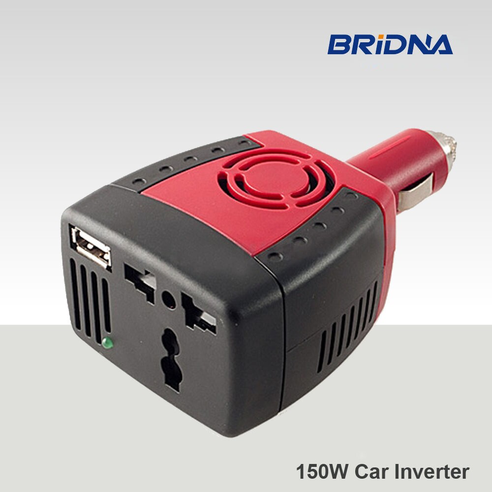 New 150w car power inverter 12v 220v convertor charger with usb(China (Mainland))