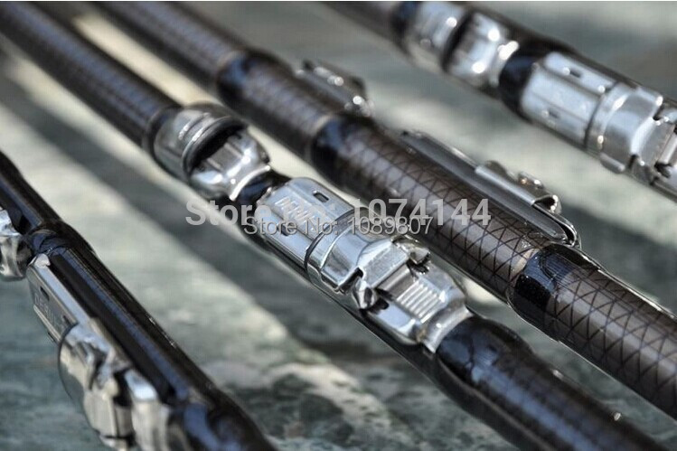 Telescopic Fishing Rod Carbon Fiber Carp Feeder Rod Surf Casting Rod Rock Carbon Spinning Fishing Pole