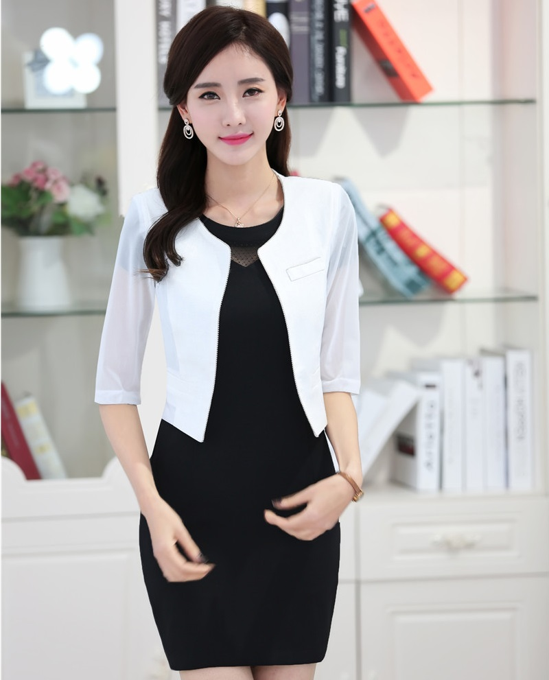 Ladies Dresses With Jackets