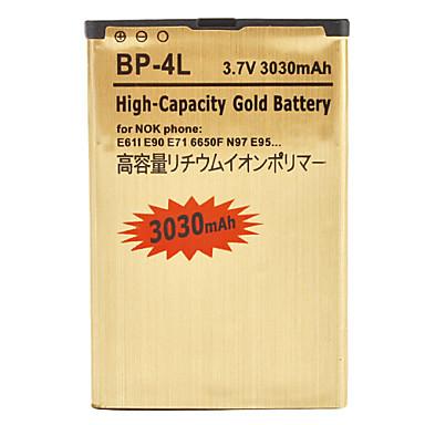 3030mAh High capacity replacement BP-4L battery For Nokia E63 E71 E72 E73 N97 Batterie Batterij Bateria 3.7V(China (Mainland))