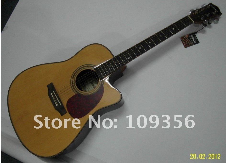 41 inch rosewood acoustic guitar good sound recommend(China (Mainland))