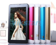 7inch Phablet GSM/WCDMA MTK6572 phablet Dual Core 4GB  Android Tablet 3g phablet Dual SIM card phablet FlashLight GPS Phone Call