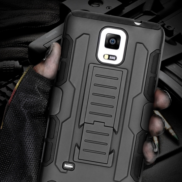 S4 Military Future Armor Case Fighter Terminator Cover For Samsung Galaxy S4 SIV I9500 Hybrid Combo Triple Full Capa Stand Case(China (Mainland))