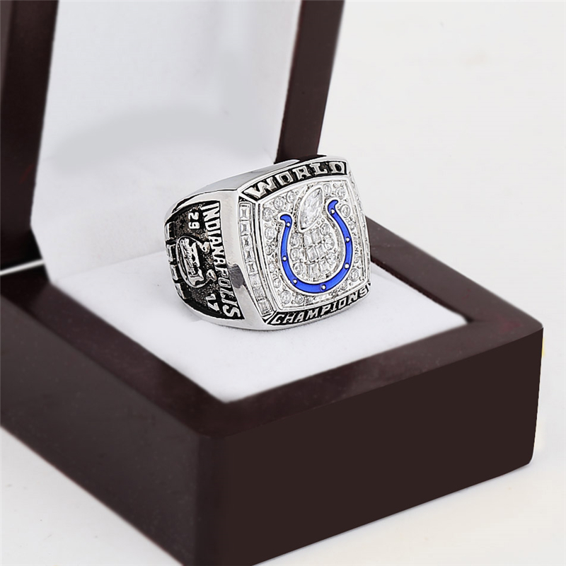 NFL Replica 2006 Indianapolis Colts Super Bowl Football Championship Rings Size 10-13 Best Fan Gift for Men Jewelry(China (Mainland))
