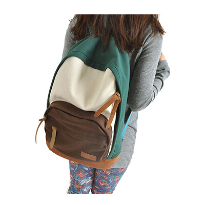 New 2014 Casual Women's Colorful Canvas Backpacks Girl Lady Student School Travel bags Mochila bolsas femininas Y0004(China (Mainland))