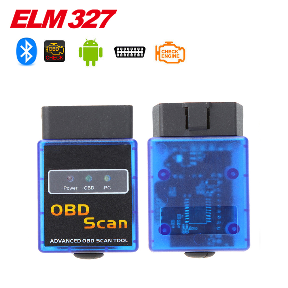 2016 High Quality Super Mini ELM327 Bluetooth V1 5 OBD2 Auto Code Reader Mini 327 Car