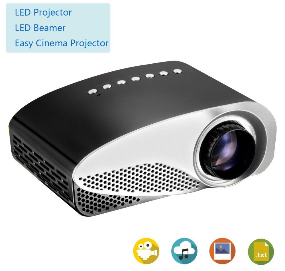 Led Mini projector Micro AV LCD Digital Video Pocket game toy beamer Projectors Multimedia Player VGA support sd usb vga HDMI(China (Mainland))