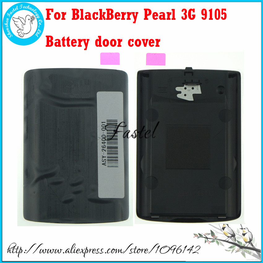 For BlackBerry Pearl 3G 9105 Original New Full Complete Mobile Phone housing Black White battery door cover(China (Mainland))