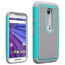Unique Non-Slip Texture Protective Silicone Case For Motorola G3 G 3rd Gen Generation 2015 Cover Hybrid Rubber For Moto Funda