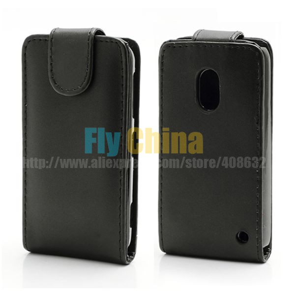 High Quality Cheap Mobile Phone leather cover Magnetic Vertical Flip PU Leather Case for Nokia Lumia 620 Free Shipping(China (Mainland))