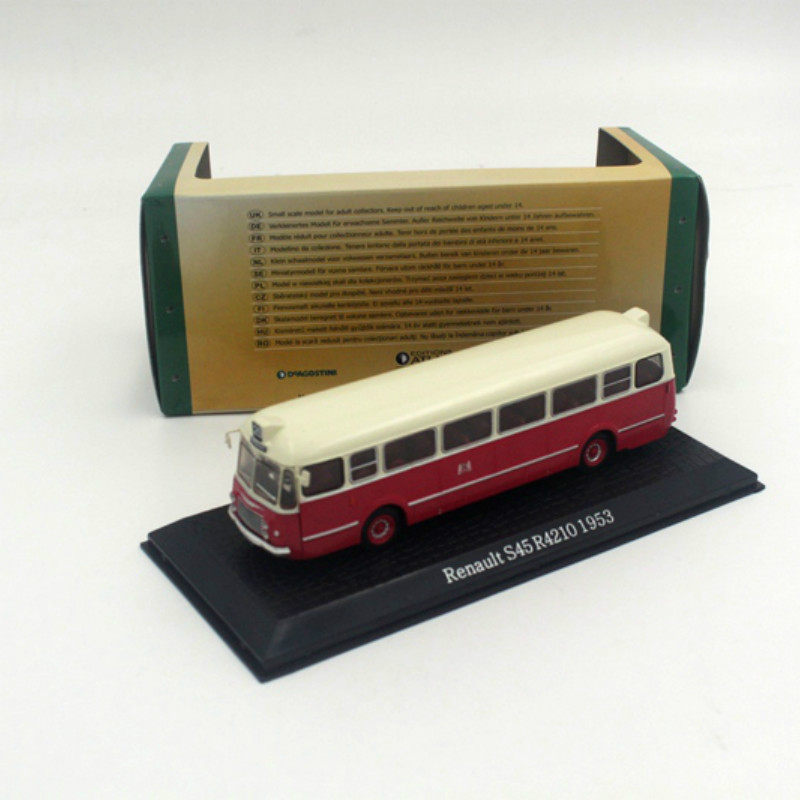 1:72 ATLAS Renault S45 R4210 1953 Bus Collection Diecast Model(China (Mainland))