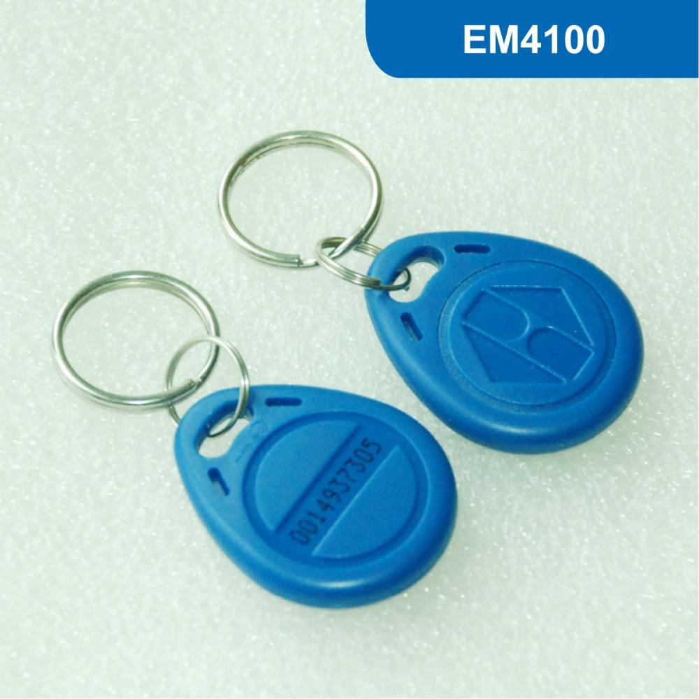 EM4100 KeyTag, RFID key fob ACCESS CONTROL 125KHz KEY TAG - Universal Solutions store