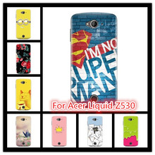 For Acer Liquid Z530 cases, New Painting Hard PC Plastic Phone Case For Acer Liquid Z530 Phone Covers Accessories