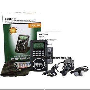 Degen DE1126 AM FM Shortwave Radio with 4GB MP3 Player