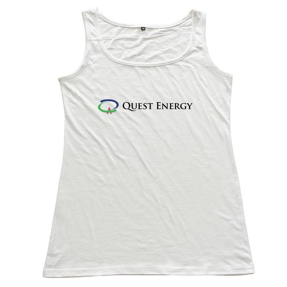 Printed Quest Energy Logo women's vest Drop Shipping Pre-cotton women tank Wholesale(China (Mainland))