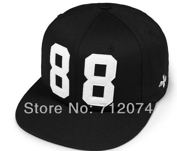 Women Men Snapback Baseball Cap Hip Hop Bboy Kpop Dancing Sport Basketball Football Visor Hat Black Adjustable BC-54(China (Mainland))