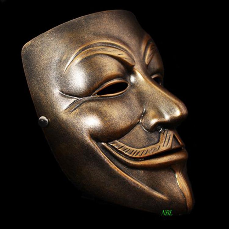 Mask Resin Blackburro Guy 9