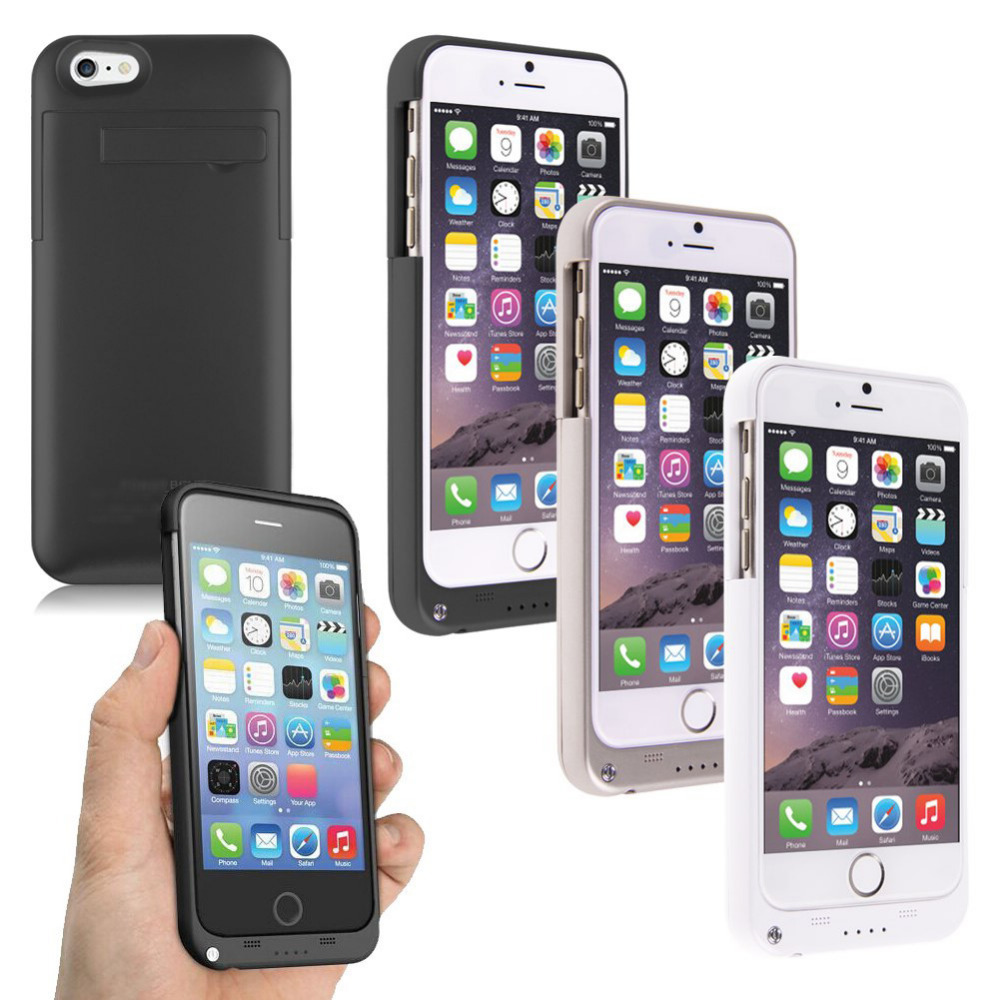 4800 mAh External batteries BackUp Power Bank Charger Case for iPhone 6 Battery case For Usa(China (Mainland))