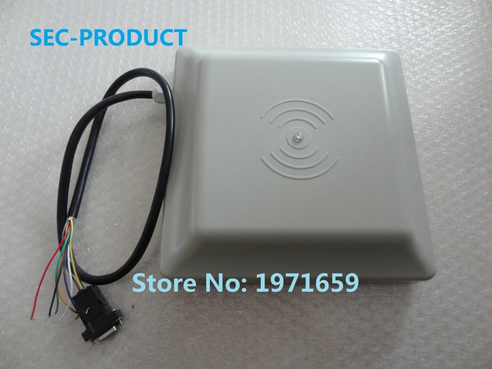 High quality 2 pcs 6M long rang UHF RFID card reader with interface RS232/RS485/Wiegand Reader / parking RFID reader(China (Mainland))