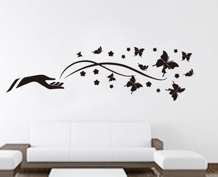 Black Wall Decals black wall decals for bedrooms ~ color the walls of your house