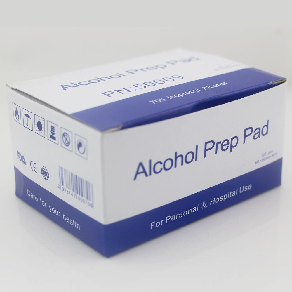 1000pcs alcohol cleaning cloth 70% Antiphlogosis Isopropyl alcohol prep pad alcohol swab 6*6cm foil bag essential tool<br><br>Aliexpress