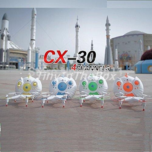 Cheerson CX-30 2.4G 4CH 6 Axis RC Quadcopter Airplane RPV With LED Kids Toys