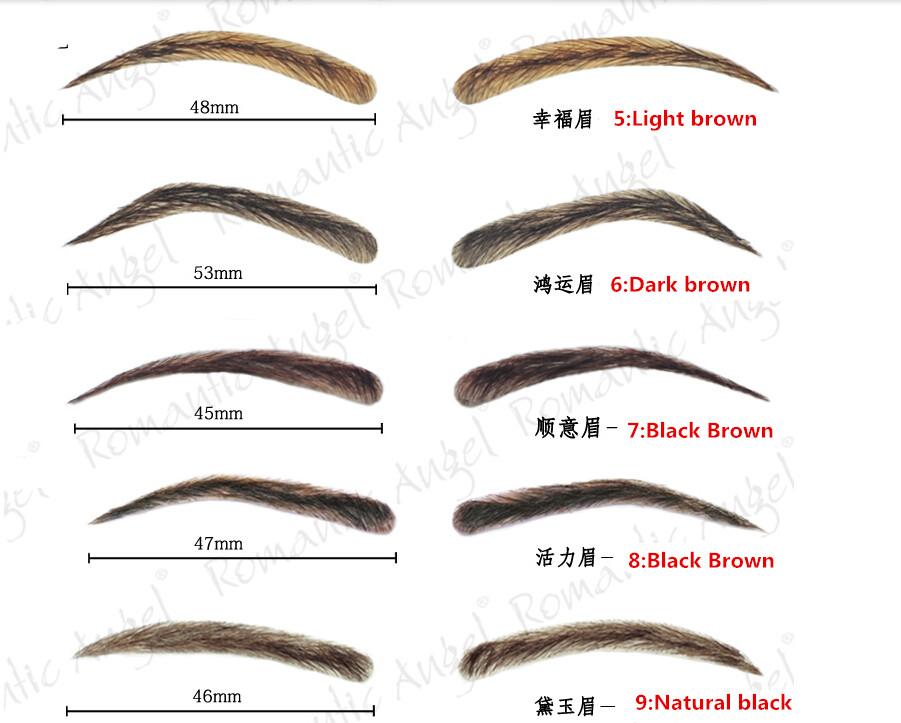 Wholesale Bionic Eyebrow Stereo Posted False Eyebrows Hair