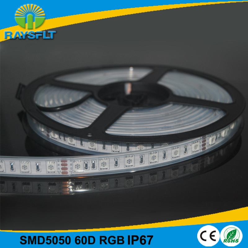 2015 LED Lighting Strip Promotion 100M IP67 waterproof 14.4w/m dc 12v white smd5050 flexible led ribbon<br><br>Aliexpress