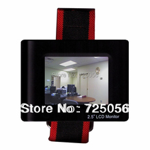 """2.5"""" LCD monitor tester for testing CCTV cameras, manual color adjustable,low power consumption(China (Mainland))"""