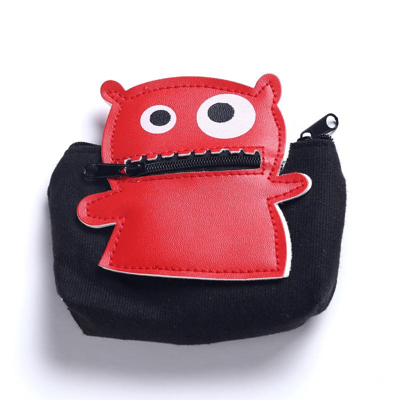 Cute Monster Coin Purse Women Girls Zipper Small Change Purse Wallet Key Holders Children Kids Portable Change Purse Money Bag