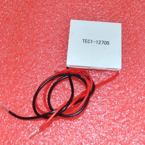 5pcs/lot+FREE SHIPPING TEC1-12705 Thermoelectric Cooler Peltier 12705 12V 5A Cells, TEC12705 Peltier Elemente Module(China (Mainland))