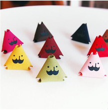 2016 New Cute creative MR.BABBA Cable Headphone Winder Earphone Wire Holder Creative Mr. Beard  Leather Winder(China (Mainland))