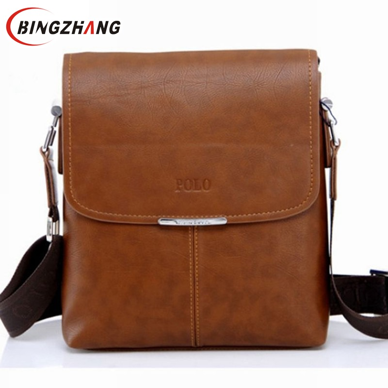 HOT SOLD High Quality men messenger bag,fashion genuine leather male shoulder bag ,casual briefcase brand name bag FC40-18(China (Mainland))