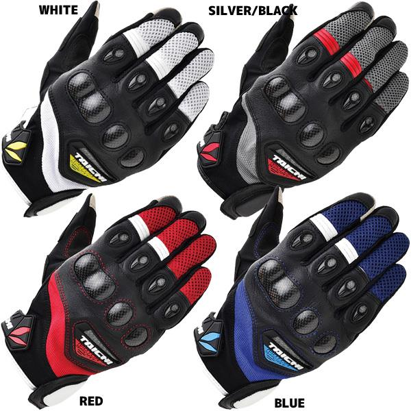 rs-tai for chi rst418 spring and summer short design carbon fiber mesh motorcycle gloves/racing gloves