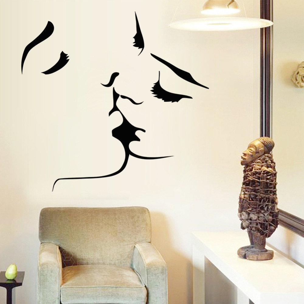 Imperial Home Decor Group Wallpaper Popular Decal Couple Kiss Buy Cheap Decal Couple Kiss Lots From