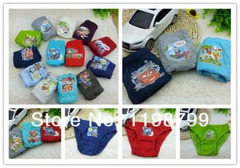 free shipping12pcs/lot cartoonUnderewears,Kids Underwear, baby boy's brief underwear,baby inner wear 2--12t etnm0001