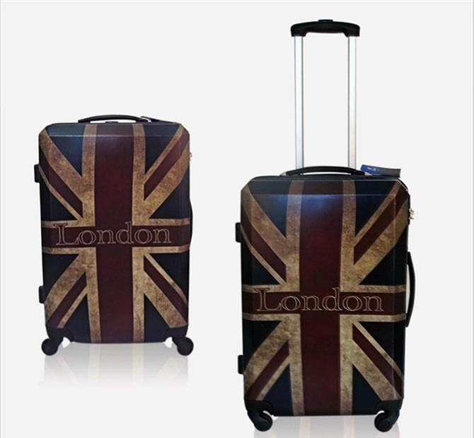 Fashion Style British Flag Vintage London Design Abs