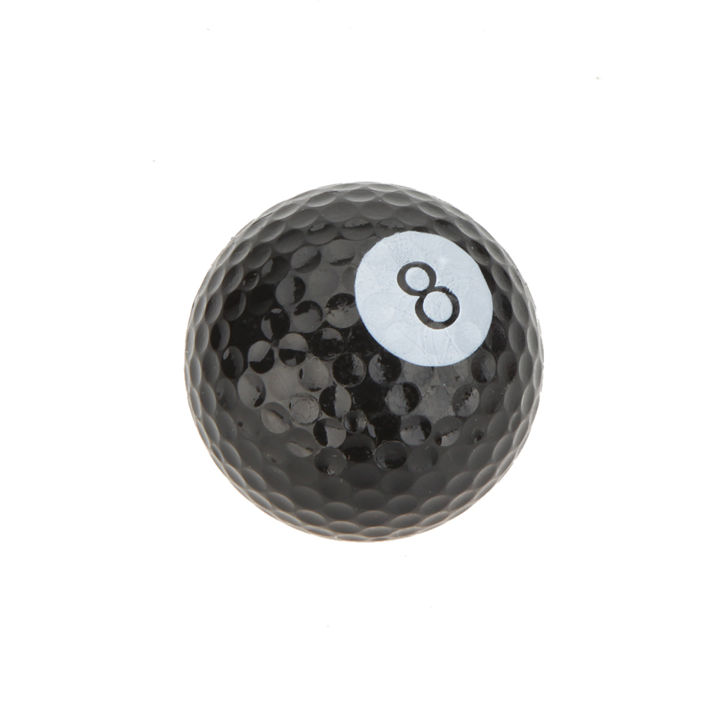 6pcs Sports Creative Golf Balls Novel Double Ball Two Piece Ball Goft Practice Equipment Model Gift Present(China (Mainland))