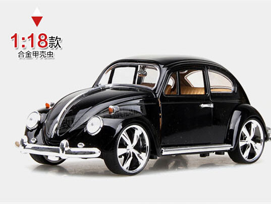Hot sale 1:18 Volkswagen Beetle  MZ Retro classic cars  Alloy car models Alloy car toy Gifts for boys Collectables Decoration<br><br>Aliexpress